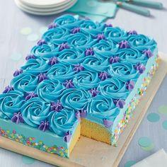 Savory magic cake with roasted peppers and tandoori - Clean Eating Snacks Mini Cakes, Cupcake Cakes, Cupcake Frosting Recipes, Sheet Cake Pan, Birthday Sheet Cakes, Square Birthday Cake, Birthday Cakes Women, Cupcake Birthday Cake, Zucchini Cake