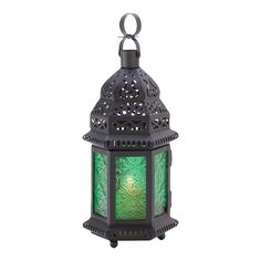 Found it at Wayfair - Exotic Emerald Lantern
