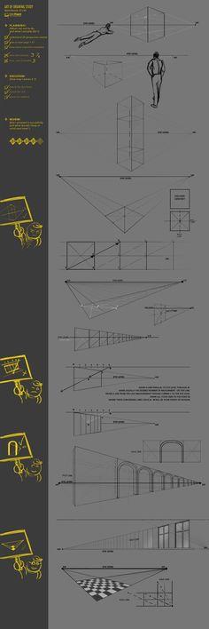 Perspective Study 33 CW by JustIRaziel.deviantart.com on @deviantART