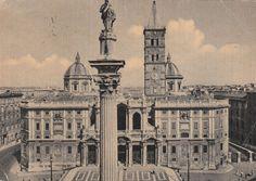 Roma Basilica di Santa Maria Maggiore viaggiata  C643