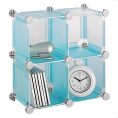 Organize It All Translucent Cubes Small Blue You Can Find More Details By