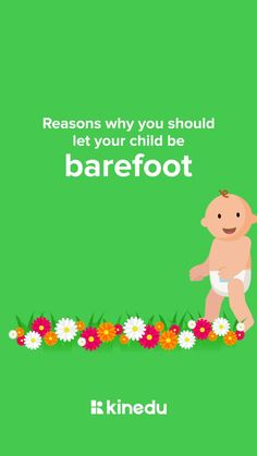 🦶The highly sensitive nerves in our feet are one of the most sensory-rich parts of the human body, with over 200,000 nerve endings. For this very reason they make us safer, we become more aware of where we're putting our sensitive feet, and what we are stepping on. 👶As babies learn to walk, they are used to having limited movement and are used to having a barrier We have more resources for parents with babies on our Kinedu app Baby Learning, Highly Sensitive, Baby Development, 2 Year Olds, Infant Activities, Human Body, Barefoot, Your Child, Fun Facts