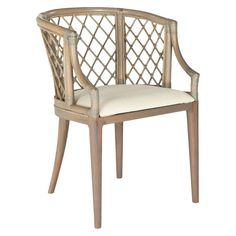 Dining Chair Wood/Light Gray - Safavieh. Image 2 of 4.
