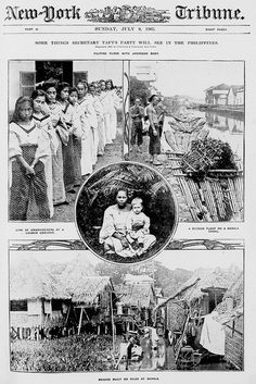 Some things Secretary Taft's party will see in the Philippines, July 9, 1905 by John T Pilot, via Flickr