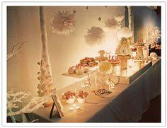 Juneberry Lane: Wedding Wednesday: 'Winter Wonderland' Dessert Tables . . .