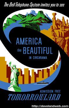 America the Beautiful, Tomorrowland, Disneyland
