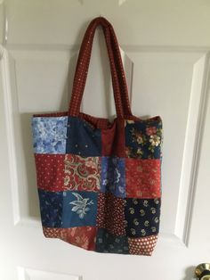 Patchwork Tote Bag by Kelley7612 on Etsy