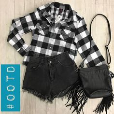Rainy  gloomy Mondays call for cute and grungy 'fits! Come check us out @ Harwood Heights! Tons of AWESOME stuff in today! -Top= $5 Size XS -Shorts= $6 Size 5/6 -Purse= $10 http://ift.tt/2pBDMc1 - http://ift.tt/1HQJd81