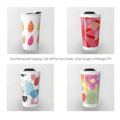 Travel mugs promo https://society6.com/mirimo