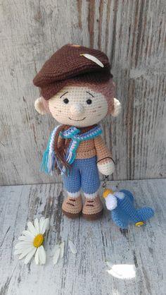 Free Crochet Bag, Cute Crochet, Crochet Crafts, Crochet Toys, Crochet Baby, Crochet Projects, Knit Crochet, Amigurumi Doll, Amigurumi Patterns