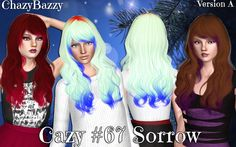 Cazy`s 67 Sorrow hairstyle by Chazy Bazzy for Sims 3 - Sims Hairs - http://simshairs.com/cazys-67-sorrow-hairstyle-by-chazy-bazzy/