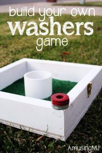 Best DIY Backyard Games - DIY Washers Game - Cool DIY Yard Game Ideas for Adults, Teens and Kids - Easy Tutorials for Cornhole, Washers, Jenga, Tic Tac Toe and Horseshoes - Cool Projects for Outdoor Parties and Summer Family Fun Outside http://diyjoy.com/diy-backyard-games