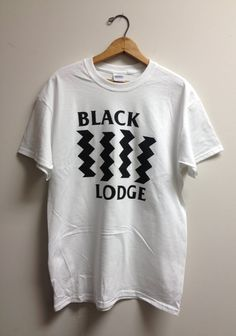 Black Lodge : Twin Peaks / Black Flag Tee