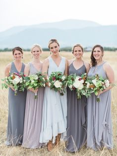 Photography : Simply Sarah Photography | Grooms Attire : Read Wall | Floral Design : Habitat Floral Studio | Wedding Dress : BHLDN Read More on SMP: http://www.stylemepretty.com/little-black-book-blog/2017/01/02/rustic-elegant-montana-ranch-wedding/