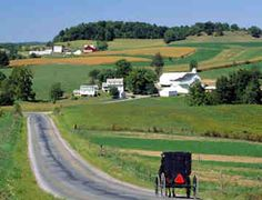 Amish country :D