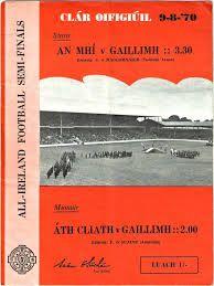 1970 All Ireland SF semi-final - Meath v Galway Semi Final, Ireland, Life, Irish