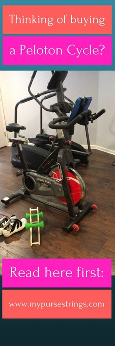 Interested in getting a Peloton spin bike? Did you know there is a Peloton App? It gives you access to the same live and on-demand classes as the Peloton. Read here for everything you need including equipment and accessories. Peloton, Fitness, Fit Mom, Spinning, Spin Bike, Apps.