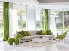 salones blanco y verde