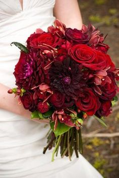 Fall wedding bouquet; this is my favorite!!