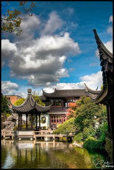 Think this is Asia? No, it's a hidden treasure in Portland! The Lan Su Chinese Garden - Portland On the Portland bucket list The Places Youll Go, Places To See, Visit Oregon, Chinese Garden, Chinese Tea, State Of Oregon, Oregon Travel, Portland Oregon, Downtown Portland