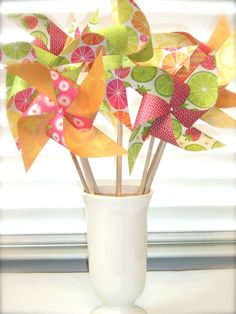 love using pinwheels for parties!