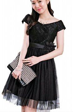 fb26b5773a58a (レディース &シープ)ladies and sheep 結婚式 ドレス お呼ばれ パーティー 袖あり 膝