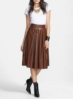 An equestrian influence: Tildon Tee & Leith Skirt