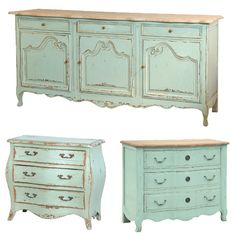 French Furniture, Painted Provence Furniture, French Provence, French Provincial, Louis XV Furniture, French Style, Country French, French Country, Painted Furniture, , Rustic Painted Furniture