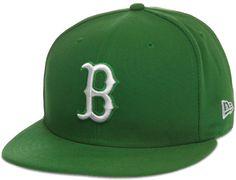 Custom Boston Red Sox Botanical Green 59Fifty Fitted Baseball Cap by NEW ERA x MLB