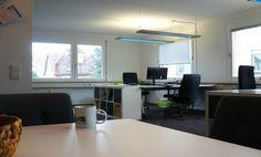 Freie Arbeitsplätze in geräumiger Bürogemeinschaft #Büro, #Bürogemeinschaft, #Office, #Coworking, #Stuttgart