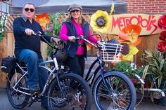 Star Trek Star and Wife Go Electric with Pedego E-Bikes