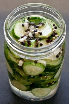 Salt & Pepper Garlic Pickles and also a recipe for Pickled Banana Peppers