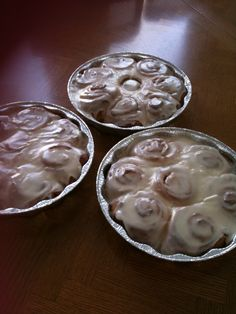 Very easy & delicious cinnamon rolls! Once you try these you'll never go back. :)
