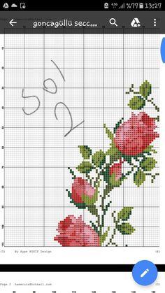 Soutache Jewelry, Rose Bouquet, Cross Stitch, Embroidery, Design, Cumin Plant, Cross Stitch Rose, Floral, Cross Stitch Embroidery