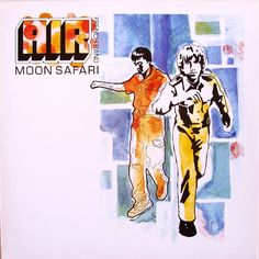 AIR French Band* - Moon Safari (Vinyl, LP, Album) at Discogs