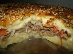 Torta de hambúrguer – Caderno de Receitas