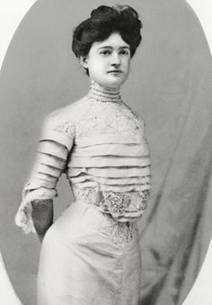 Clara Driscoll - Texas royalty - She saved the Alamo from demolition and was a supporter of the arts.((