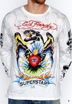 99ddf652ed40 EDH Mens Long Shirts15 Ed Hardy Perfume