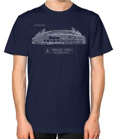 Ballpark Blueprints T-Shirt | This list has something to suit even the hardest to shop for, so sit back, click around, and wait for the perfect present to show up on your doorstep.