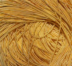 Gold Rough Purl from The London Embroidery School