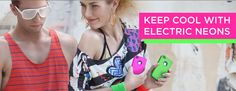 We love the '80s! #Electric #Neon