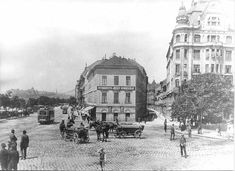 Old Pictures, Old Photos, Budapest, Historical Photos, Hungary, Landscapes, Painting, Historical Pictures, Paisajes