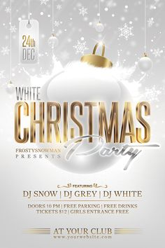 Christmas Party Flyer  Christmas Parties Party Events And Flyer