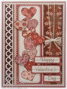 Happy Valentine's Day  By:One Krafty Kat