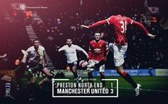 Preston North End Manchester United. Official Manchester United Website, Preston North End, Sports Fanatics, Live Matches, Match Highlights, Places To Visit, The Unit, Football, Poster