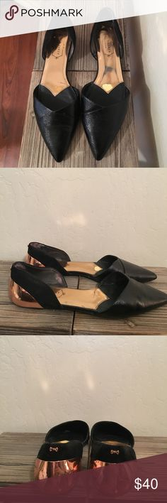 Selling this Authentic genuine leather Ted Baker cut out flats on Poshmark! My username is: laurabode. #shopmycloset #poshmark #fashion #shopping #style #forsale #Ted Baker London #Shoes