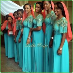 bellanaijabridesmaids | Iya Eko - Trending African Fashion