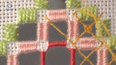Embroidery Hardanger .Learn How To Make Twisted Bars