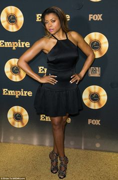 Cookie monsters take note! Taraji P. Henson rocked a classic LBD for Fox's Empire Q&A at T...