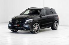 #Brabus сделал из Mercedes-Benz #GLE суперспринтера